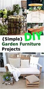 Easy, Diy, Garden, Furniture, U2013, Sunlit, Spaces