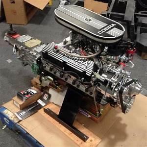 351w    437 Hp Cobra Kit Sniper Efi Engine Tranny Pkg