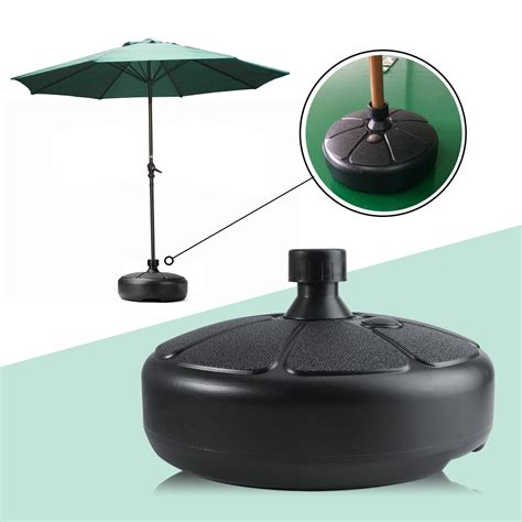 parasol outdoor umbrella base stand garden