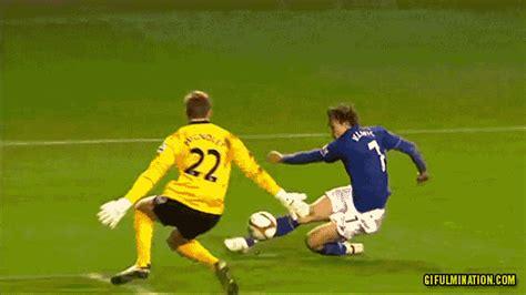 football gif david vaughan scores daft  goal