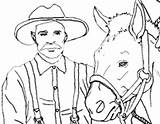 Prospector Miner Coloring Pages Template sketch template