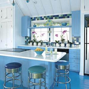 beach inspired kitchen ideas southern living With kitchen colors with white cabinets with how to get free nike stickers