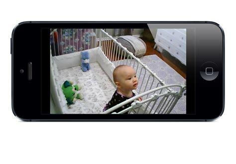wifi baby app turns iphone  ipad  baby monitor
