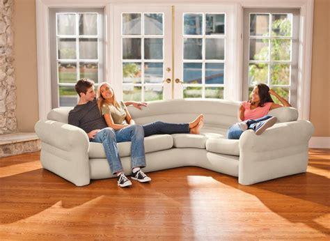 canap d angle commandeur canapé sofa d 39 angle beige gonflable intex jardideco