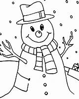 Snowman Coloring Pages Winter Christmas Printable Snowmen Cartoon Colouring Pumpkin Abominable Penguin Getcolorings Disney Boys Baby Anycoloring sketch template