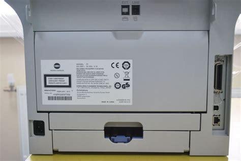 Measuring 14.6 x 15.1 x 9.7 inches, the konica minolta bizhub 20p workgroup printer is a blocky device with paper trays that could take care of 800 web. Konica Minolta Bizhub 20 MFP на цена 270 лв. с RADF и Duplex