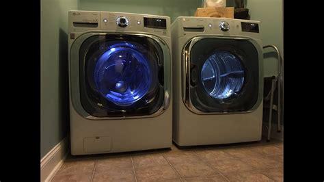 lg mega capacity  cu ft front load washer   cu ft