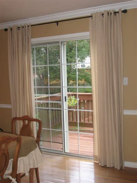window treatment ways  sliding glass doors theydesign