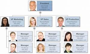 Make Organizational Charts In Word With Templates From