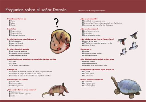 cuento de darwin