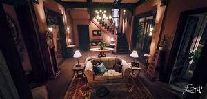 The charmed house interior - House interior