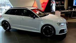 Glacier White 2018 Audi Rs3 Sportback With Black Optic And