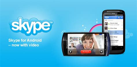 skype for android skype calling comes to a plethora of new handsets