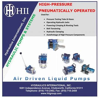 Air Pressure Pumps Test Oxygen Electric Boosters