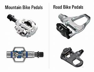 Road Bike Vs  Mountain Bike Pedals