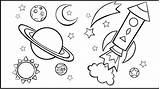 Space Coloring Outer Pages Above Credit Gwall sketch template