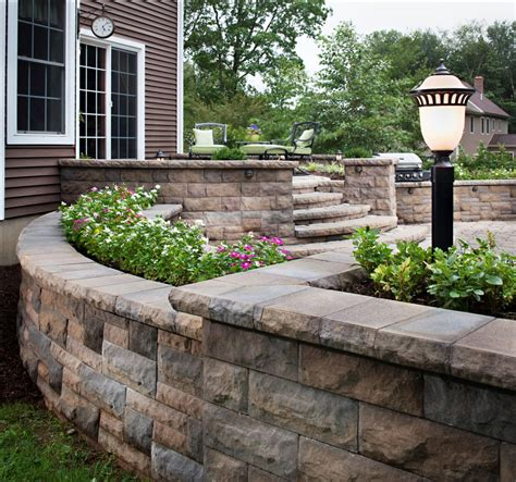 belgards best for creating a retaining wall