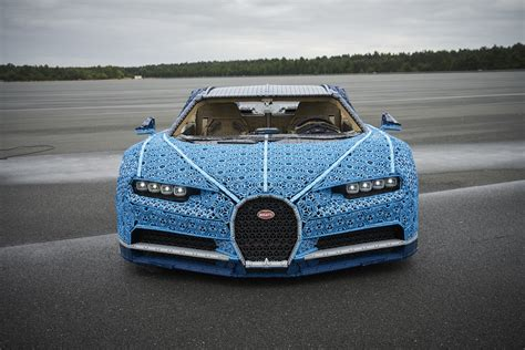When we say with lego technic you can build for real, we really mean it! LEGO Designers Create Life-Sized—and Drivable—LEGO Bugatti Chiron