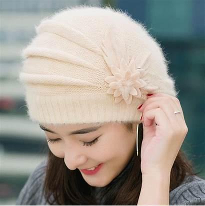 Hats Hat Crochet Flower Flowers Knitted Winter