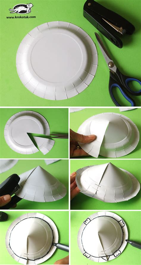 krokotak paper plate turtle craft