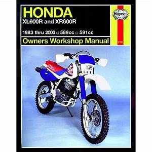 Haynes Manual 2183 Hon Xl600r  U0026 Xr600r  Essex Motorcycles