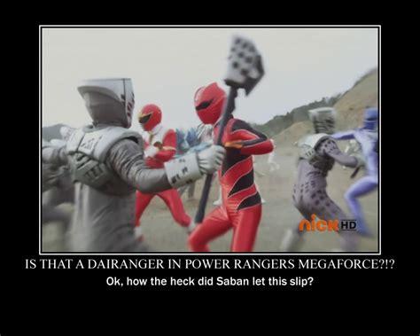 Power Rangers Megaforce Demotivational By Technomaru On
