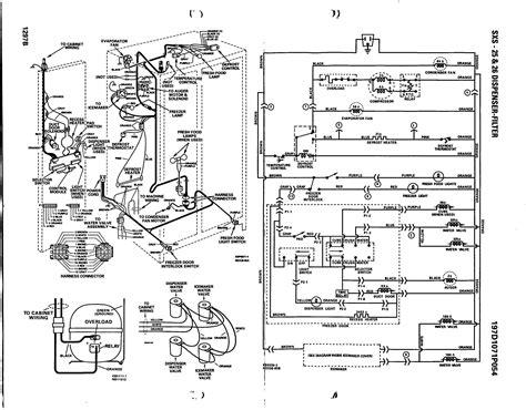 ge side by side refrigerator wiring diagram sle