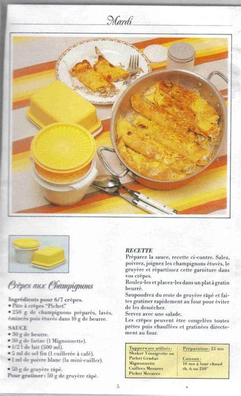 recette pate a crepe tupperware livre recettes cr 234 pes tupperware