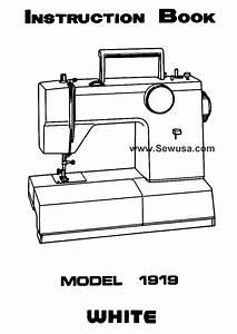 White 1919 Instruction Manual