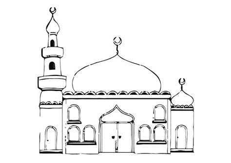 Moskee Kleurplaat by Kleurplaat Moskee Afb 11274