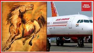 Air India's Precious Collection Of MF Hussain's Paintings ...