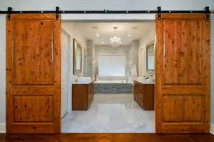 Interior Design Country Style Homes 15 Sliding Barn Doors That Bring Rustic To The Bathroom