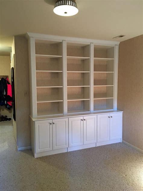 Chesapeake Closets by Custom White Den Wall Unit Chesapeake Closets