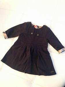 robe burberry bleu marine 12 mois pas cher robe enfant With robe burberry fille