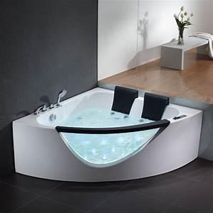 Komfortabler Whirlpool Badewanne Whirlpools EAGO S Serie