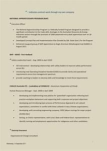 Mel Nolan CV Resources Industry