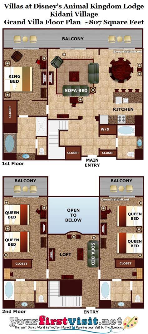 kidani 3 bedroom grand villa theming and accommodations at disney s kidani