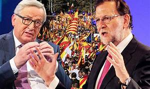 'This is EUROPE'S BATTLE' Spain PM Rajoy says Catalan ...