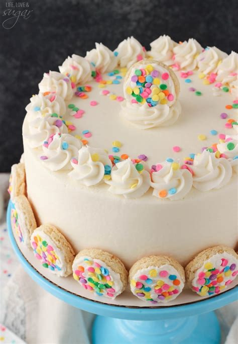 baileys frosted vanilla cookie layer cake life love