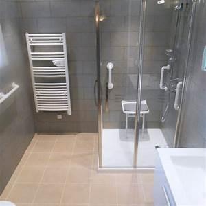 Refection Salle De Bain : douche et vous am nagement douche s curis e pour s nior ~ Preciouscoupons.com Idées de Décoration