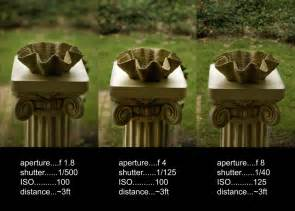 Aperture Depth of Field Photography Examples