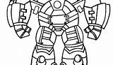 Hulkbuster Coloring Iron Printable Drawing Clipart Clipartmag sketch template