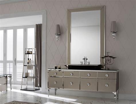 milldue majestic  bronze glass high  italian bathroom
