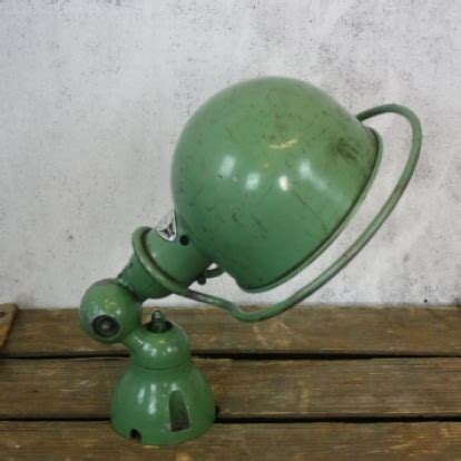 vintage jielde wall light in green lovely and company