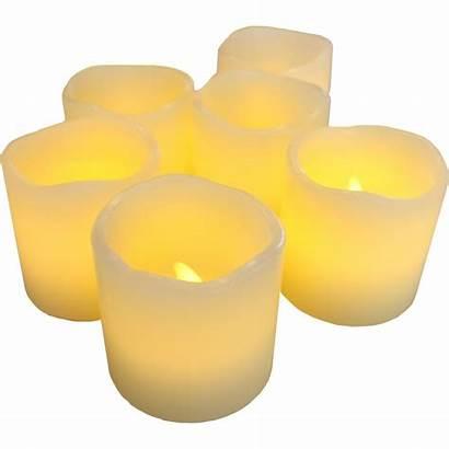 Candle Clipart Artificial Candles Led Votive Flame