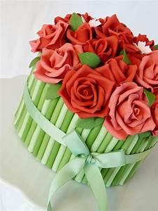 Rose Bouquet Cake - CakeCentral com