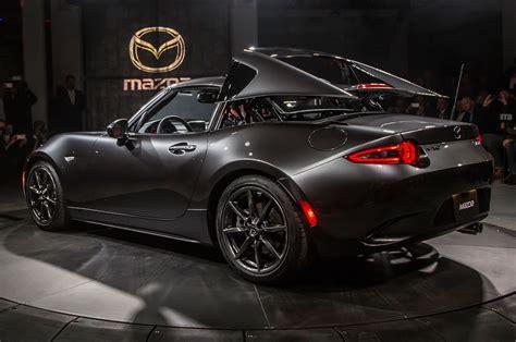 2017 Mazda Mx-5 Rf Debuts In New York With A Power Targa