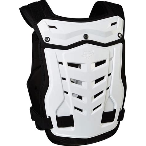 fox motocross chest protector fox racing new mx proframe lc white chest protector guard