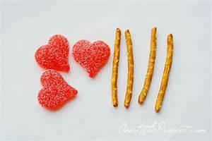 Valentine Treats - Easy Cupid's Arrow Pretzels ...