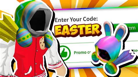 april  roblox promo codes  roblox  easter